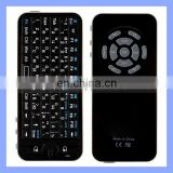 Handheld Slim Keyboard with Touchpad Support 2.4G Bluetooth Keyboard