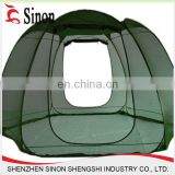 outdoor gazebo garden tent/ steel frame material pop up folding mosquito net hexagon tent