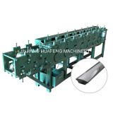 Stainless Steel Handrail Pipe Roll Forming Machinery, Special Shape Steel Tube Making Machine