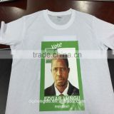 Cheap Election T-Shirts 100% Cotton printed shirts for men