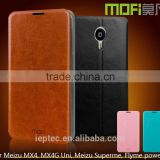 MOFi Case Celular Flip Protective Housing for Meizu MX4, Mobile Handset Coque Leather Back Cover for Meizu MX4