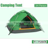 TOOTS 3 - 4 person Luxury Family Outdoor Waterproof Portable Camping Tent