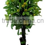 artificial trees fabreic plastic material artificial fruits artificial plants with fruits
