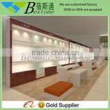 China commercial custom made wooden shoe racks for store displays
