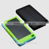 Cell Phone and Tablets Solar Battery Charger Portable 8000mah Solar Power Bank Universal