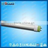 Compatible Rotating end cap 1200mm T8 LED tube, thick film circuit, Office Light Retrofit