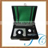 Classical old-fashion indoor office mini golf putter set for wholesale