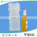 Wine Bottle Cooler Packaging Bags , Plastic Air Cushion Bag