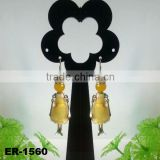 2014 Lastest Fashion Handmade Paris doll pendant earrings