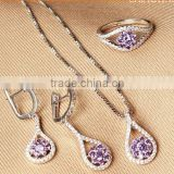 Alibaba new product High quality fashion design powell wholesale jewelry set