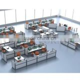 Multifunctional Cubicle Table Used Office Low Partition Modern Workstation Desk(SZ-WS011)