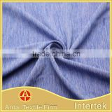 Micro combo yarn dye nylon spandex blended fabric for gym wear