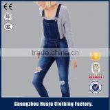 Garment Factory Wholesale OEM Custom Spring Slim denim trousers women's fashion jeans