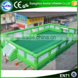Portable water soccer field,new inflatable soccer field for sale