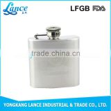 Factory wholesale good quality hip flask metal candle holder base for wine bottle