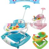 Discovery Activity Musical Play Tray Pusher Baby Walker With Wheels