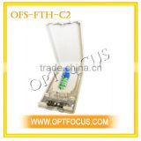 Indoor Fiber Optic Termination Box used in telecommunication equipment room and network equipment room