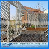 good quality and best price expanded aluminum metal mesh cladding construction safety from alibaba china supplier
