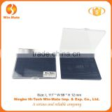 supplier price!win-mate cheap rectangle clear cap 12 color empty Plastic Eyeshadow Box Manufacturer