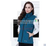 KCFIR far infrared rechargeable women heated vest with 5200 mah li battery for KC-WV001