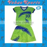 custom sublimation flag football jersey shorts for kids