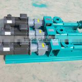 Stainless steel single screw pump/mud pump/slurry pump