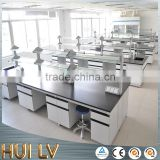 Modern style wall bench table Chemical lab workstation