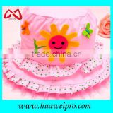Lovely girls bucket hat cheap wholesale bucket hat with embroidery patch and print decorations