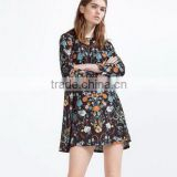 2016 Fashion Summer Women Floral Ethnic Dress New African Shirts Dress                                                                         Quality Choice
