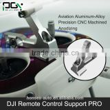PGY DJI Phantom3 inspire accessories Bracket mount Holder Rc model black & Silver Aluminum Alloy Remote Control Support PRO