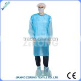 new products style ZR-SG-2016-0008 anti-blood anti-alcohol anti-oil High Protection disposable sterile surgical gown