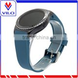 Factory wholesales Smart Watch Bracelet Silicon watch Band /Silicon Strap Wristband For SAMSUNG GEAR S R750