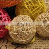 manufacture hot sale wicker decoration wicker ball