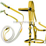 soft PVC webbing endurance horse bridle and halter                                                                         Quality Choice