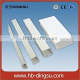 Cheap PVC-U slotted type solide wall wiring duct