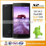 X2 newest MTK6592 8MP camera android 4.4 16G RAM HD 1280*720 smart phone