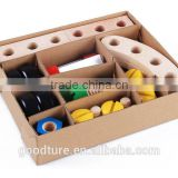 30 Pieces Changeable Nut Building Blocks Car Toy Set