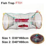 Round Folding fish traps for sale