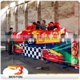 2016 Amusement Park Play Car Racing Games Mini Electric flying car for kids
