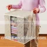 Portable Zip Non-woven Fabric Clothing Storage Organizer Box                                                                         Quality Choice