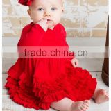 korean style newborn first birthday cotton baby pearl outfits romper
