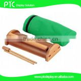 Bamboo mini roll up banner