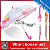 Eva transparent umbrella/kids animal print umbrella
