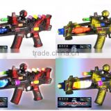 20 inch infrared light flashing gun toy with sound battery operate DD0601456
