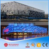 2016 ADTO Factory Price Light Steel Frame Structure Prefabricated Gas Station Steel Hall with High Quality