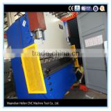 WE67Y electro hydraulic servo plate press brake bending machine