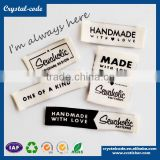Swimwear care quality custom cheap garment woven label
