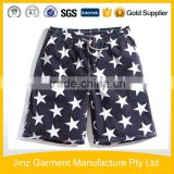 Custom Logo Printing Mens Beach Wear Board Shorts Cargo Short