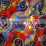 Good quality African printed sequins wax with golden thread for dress and clothes, K0414(8)