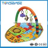 Newest animal baby activity gym exercise and fitness waterproof bath mat